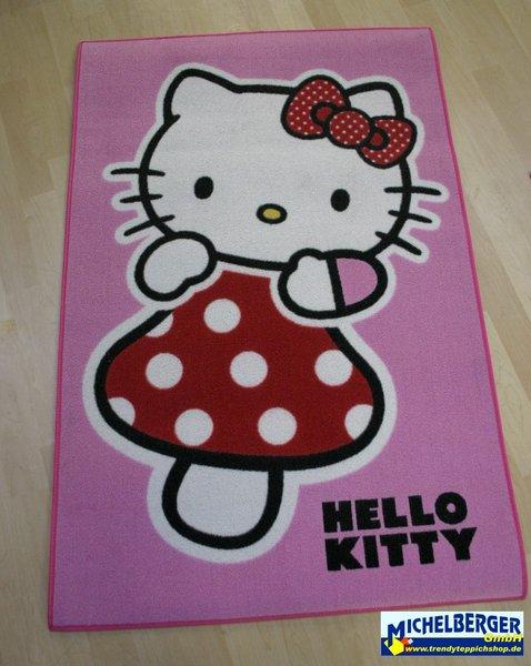 teppich hello kitty hk10 amanita 80 120 michelberger ihr trendy teppich shop. Black Bedroom Furniture Sets. Home Design Ideas