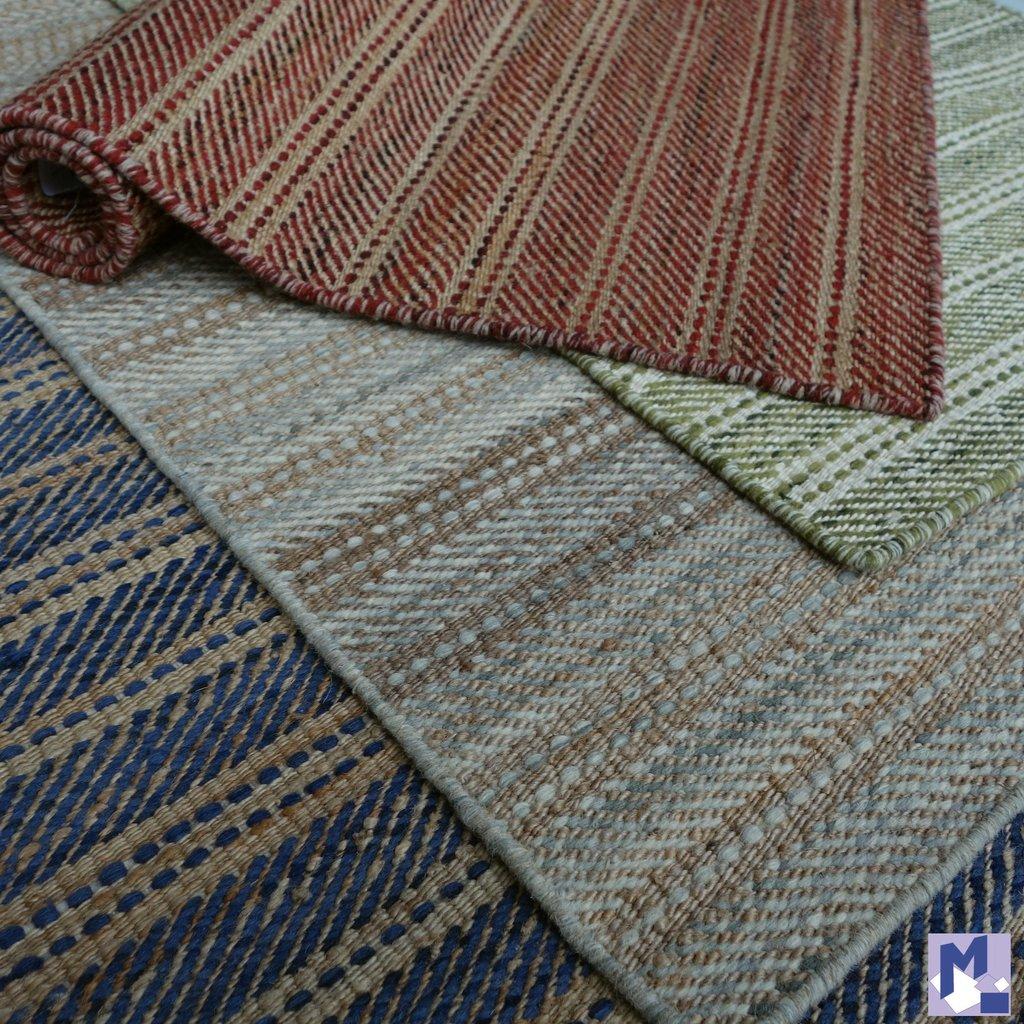 Woll Handweb Teppich ANCONA Super