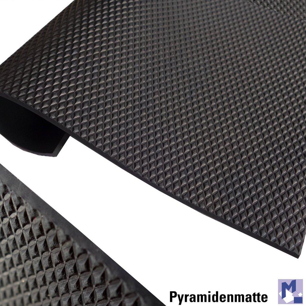 gummimatten meterware restposten diagonal gummilufer mm schwarz cm breit with gummimatten. Black Bedroom Furniture Sets. Home Design Ideas