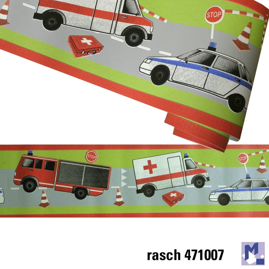 Bordüre Rasch 471007 Unfall Polizei Feuerwehr - Michelberger Ihr ...