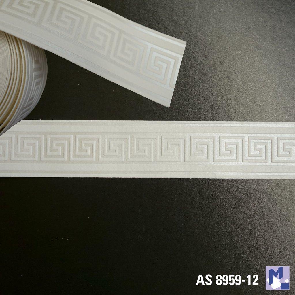 Fabulous Bordüre AS 8959-12 Mäander schmal selbstklebend - Michelberger Ihr BC82