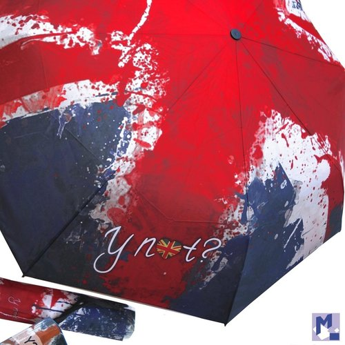 Taschen Regenschirm Super Mini City paint flag UK