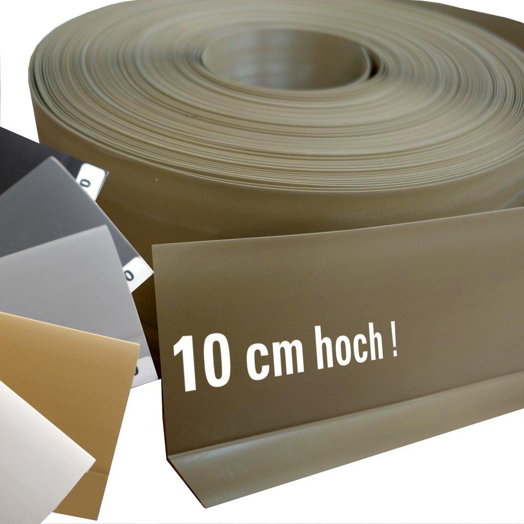 Berühmt Kunststoff Weich- Sockelleiste 10 cm Meterware - Michelberger Ihr UP98